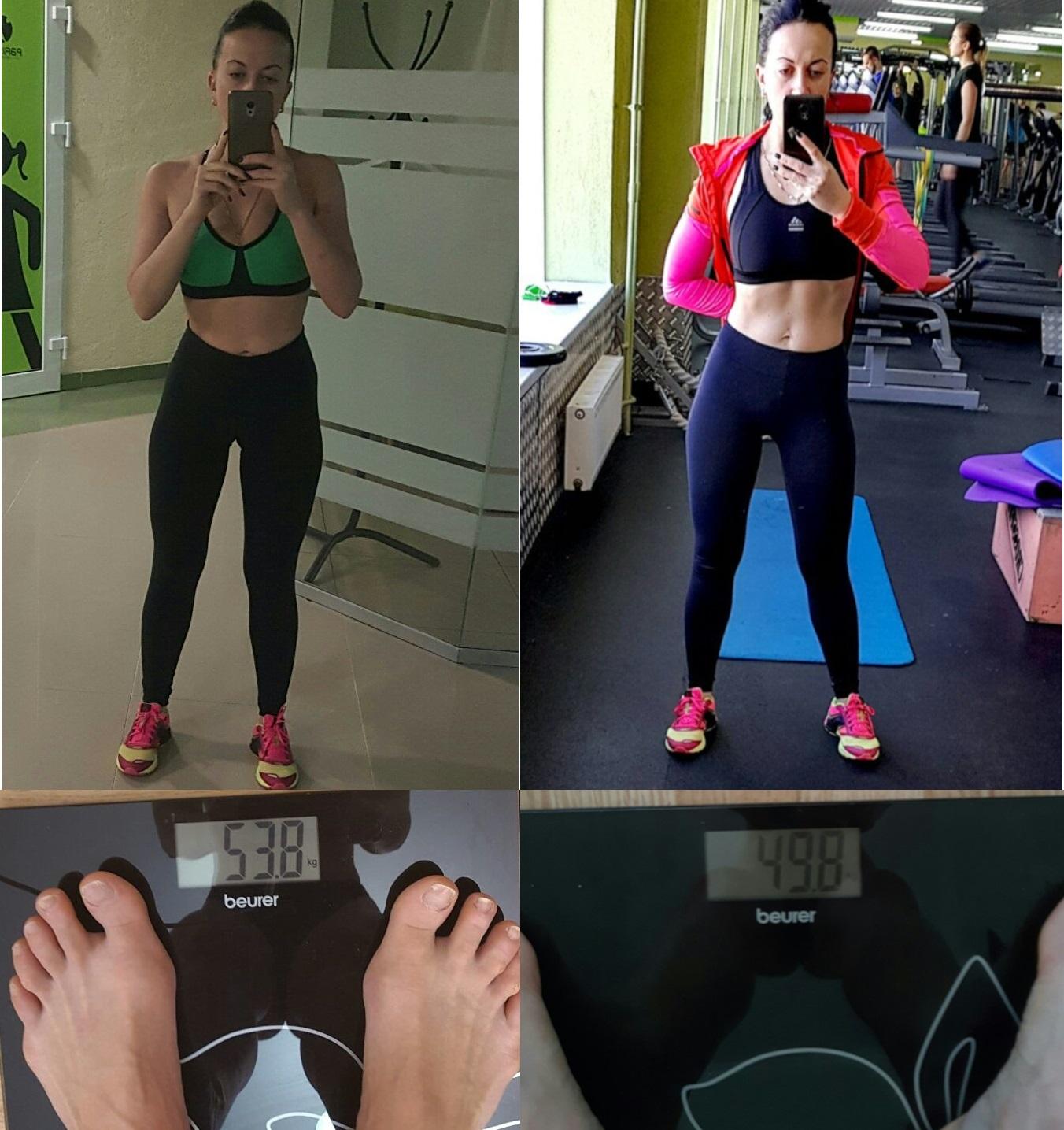 Результаты похудения до и после фото